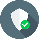 Protected Icon With Checkmark